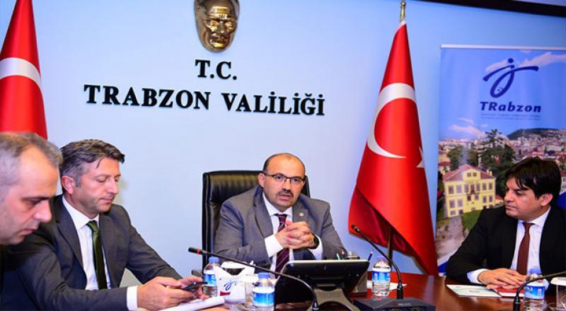 Trabzon'da Turizm Degerlendirme Toplantısı Yapıldı